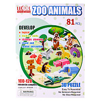"Пазл 3D ""Zoo Animals"" LK-8861 (81 элементов)"