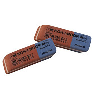 Ластик Koh-I-Noor Blue Star 6521/40 сине-красный
