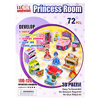 "Пазл 3D ""Princess Room"" LK-8862 (72 элемента)"
