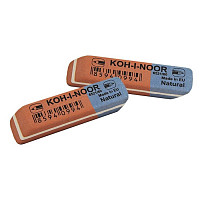 Ластик Koh-I-Noor Blue Star 6521/60 сине-красный