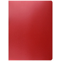 "Папка  30 файлов ""OfficeSpace"" красная"