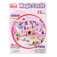 "Пазл 3D ""Magic Castle"" LK-8860 (72 элемента)"
