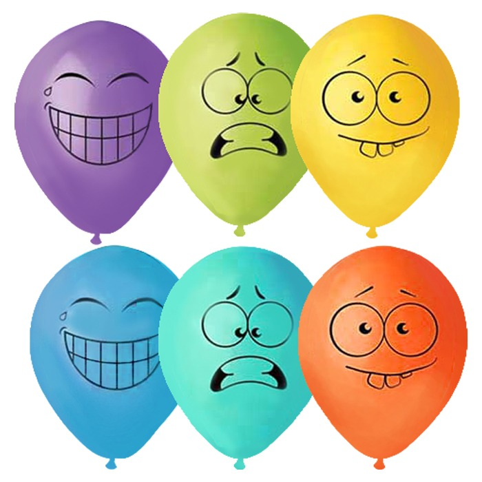 Прикольные картинки воздушные шары, для